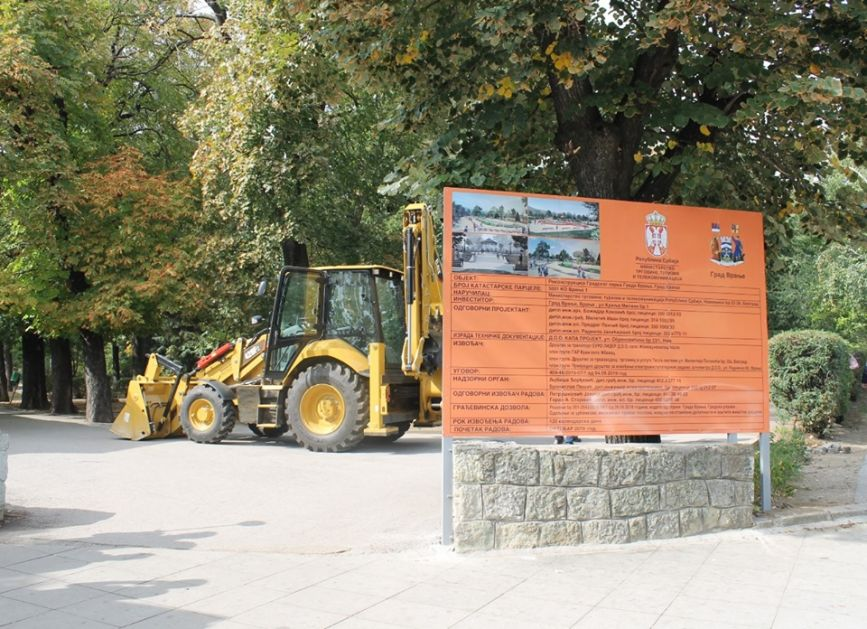 Počinje rekonstrukcija gradskog parka