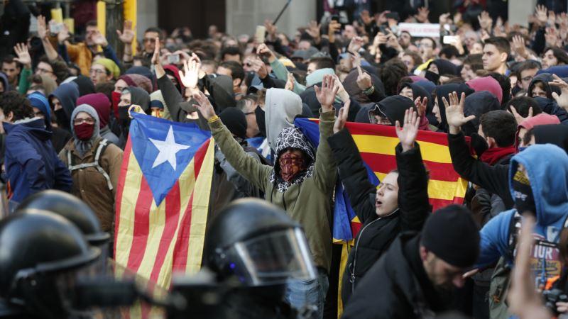 Suđenje protiv 12 katalonskih separatista, masovne demonstracije