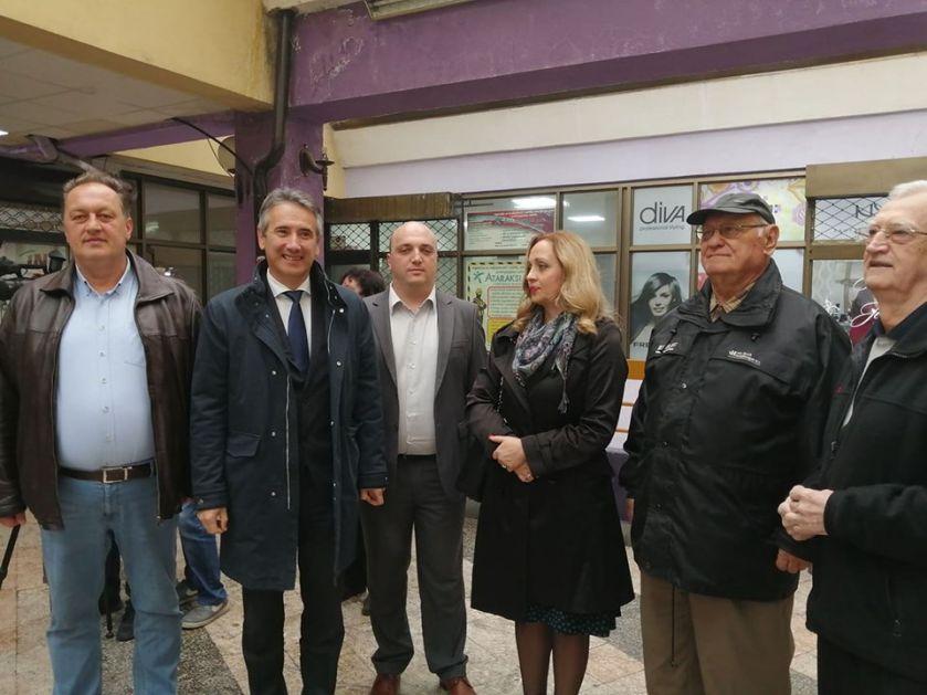 """Počinje uređenje Stambeno poslovnog objekta Blok """"Pošta – banka"""""""