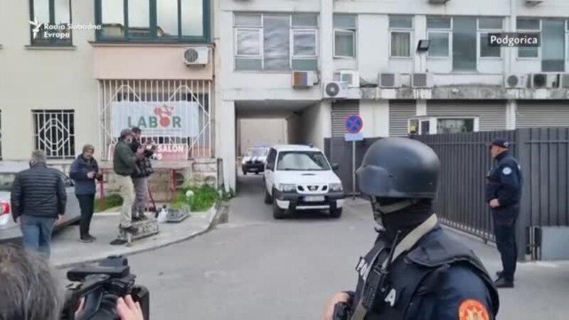 Podgorica: Privođenje Slobodana Kašćelana