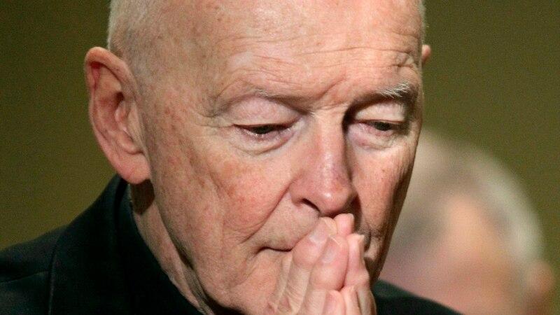 Podignuta optužnica protiv bivšeg kardinala za seksualni napad na tinejdžera