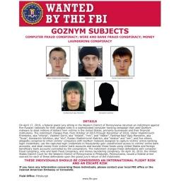 Podignuta optužnica protiv članova kriminalne grupe GozNym zbog krađe 100 miliona dolara