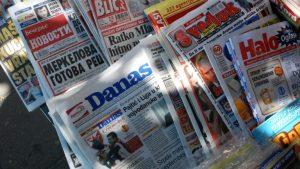 Podrška Medijske koalicije listu Danas i Coraxu