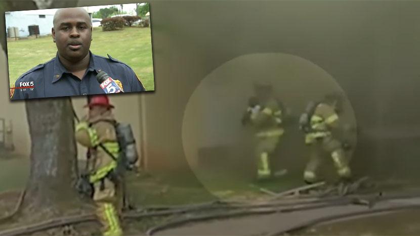 Pogledajte čudo: Vatrogasac UHVATIO BEBU bačenu sa drugog sprata (VIDEO)