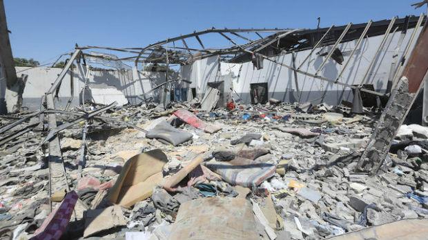 Pogođena fabrika keksa u Libiji, deset poginulih