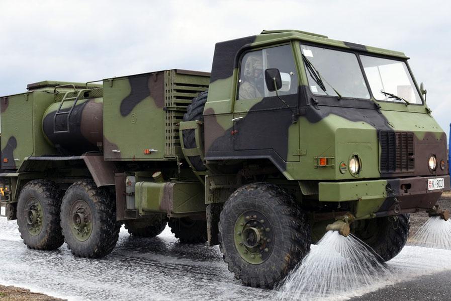 Pojačane mere Vojske Srbije na suzbijanju Covid-19 u Valjevu