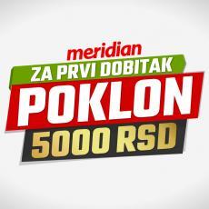 Poklon i do 5000 dinara, jer tvoj prvi dobitak ovde vredi duplo