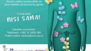 Pokrenuto prvo Stručno online savetovalište za žene obolele od karcinoma jajnika