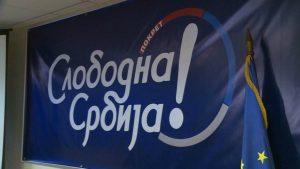 Pokret Slobodna Srbija priključio se opoziciji koja bojkotuje izbore 21. juna