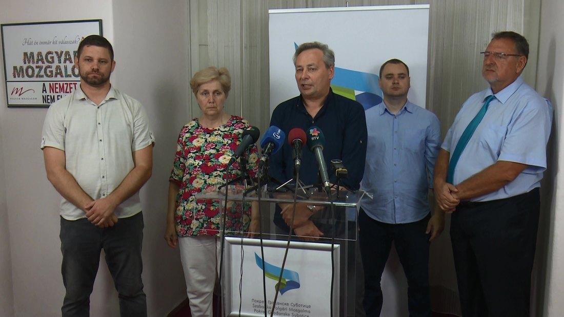 Pokret građanske Subotice jedini pokret građana koji je u Vojvodini uspeo da pređe cenzus