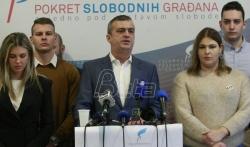 Pokret slobodnih gradjana neće učestvovati na predstojećim izborima