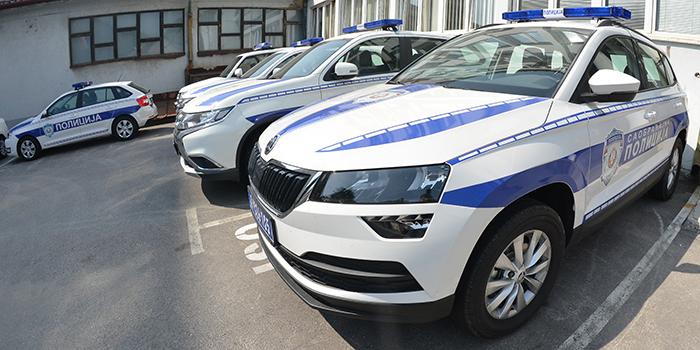 """Policija 24 časa u okviru """"Spid maratona"""" meri brzinu kretanja vozila"""