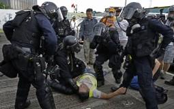 Policija Hongkonga koristila oštriju taktiku u suzbijanju demonstraciji nego obično