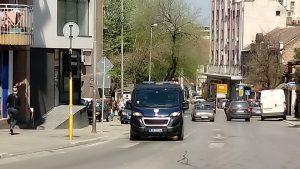 Policija obaveštavala Smederevce o neophodnom fizičkom rastojanju