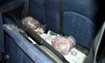 Policija pronašla 2,1 kilograma marihuane ispod zadnjeg sedišta auta, uhapšeno troje