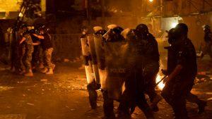 Policija upotrebila suzavac protiv demonstranata u Bejrutu (FOTO)