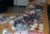 Policija zaplenila pun gepek neprijavljene kozmetike FOTO