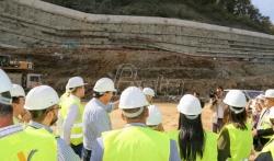 Politika: Potporni zid u Grdeličkoj klisuri gradjen bez dozvole