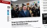 Politiko: Mađarski obaveštajci omogućili bekstvo Gruevskog; Zaev: Kako su naša 4 prijatelja dozvolila njegov beg?