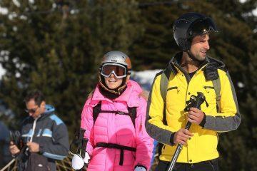 Poljubac na Alpima: Novak i Jelena Đoković oduševili zajedničkom slikom (foto)