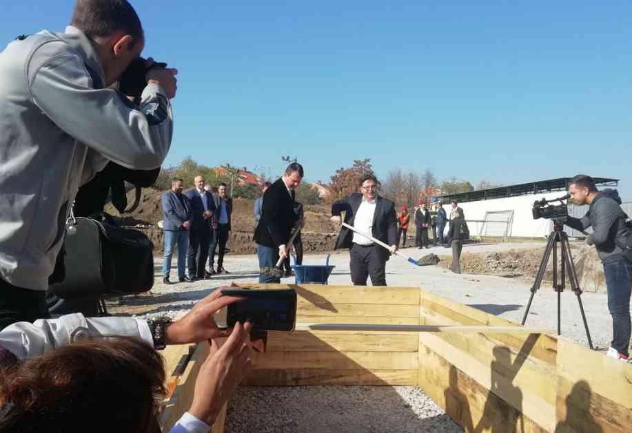 Položen kamen temeljac za novu školu u Sremskoj Mitrovici