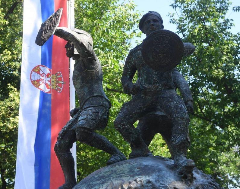 Položen venac na Spomenik junacima sa Košara