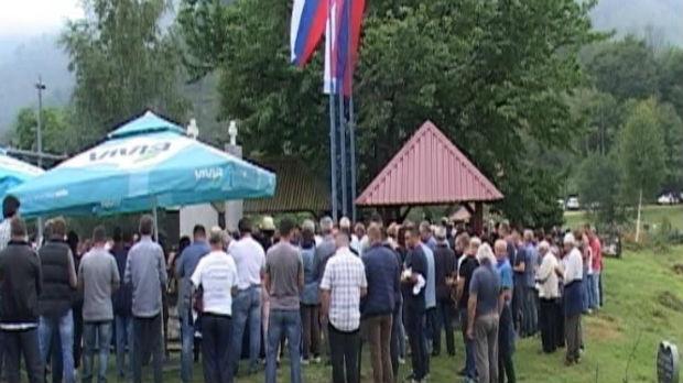 Pomen Srbima ubijenim kod Bratunca i Srebrenice