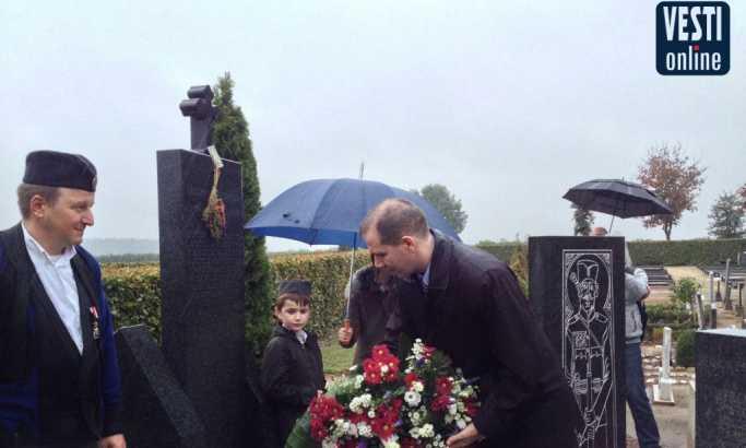 Pomen srpskim vojnicima na groblju Krasthof: Nisu žalili život za slobodu
