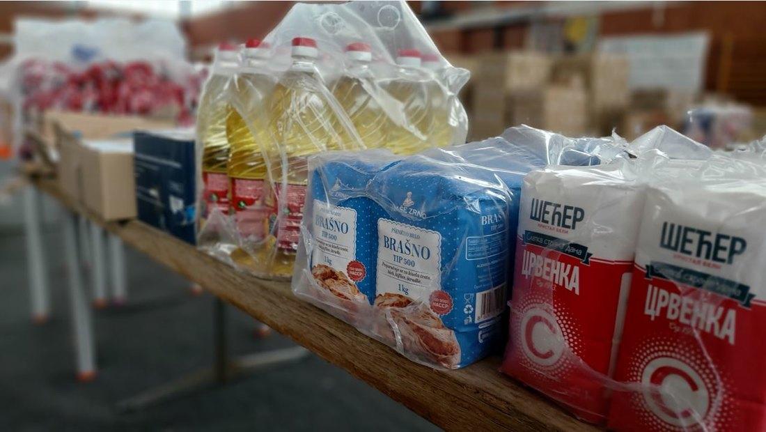 Pomoć romskim porodicama u Senti