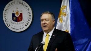 Pompeo: SAD će osigurati da Kina ne blokira Južno kinesko more