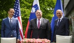 Pompeo i Janša razgovarali o partnerstvu SAD i Slovenije, potpisana izjava o bezbednoj mreži 5G