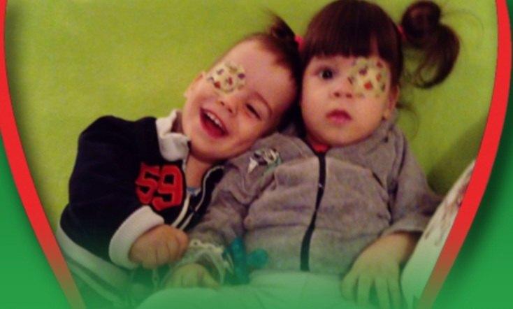 Ponavlja se Humanitarni ponedeljak za blizance Saru i Andreja