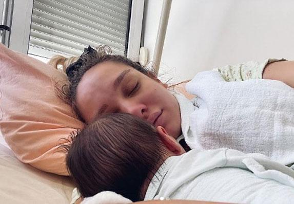 Ponosna mama Luna Đogani pokazala kutak svoje bebe!