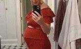 Ponosna mama: Pevačica pokazala svoj trudnički stomak FOTO