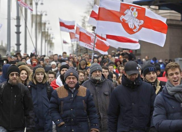 Ponovo demonstranti u Belorusiji protiv dubljih veza s Rusijom