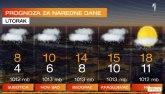 Ponovo pad temperature, biće i snega - u delovima zemlje meteoalarm VIDEO