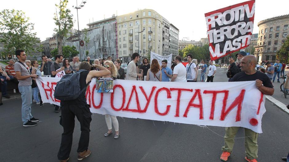 Ponovo protest: Nećemo odustati