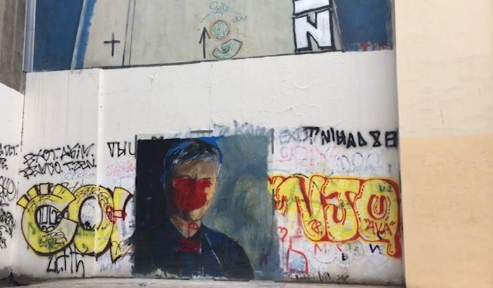 Ponovo uništen mural s likom Zorana Đinđića