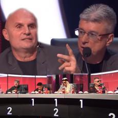 Popović pokazao SREDNJI PRST Miliju, Snežana zgrabila mikrofone, a ostatak žirija Zvezda Granda POSKAKAO!