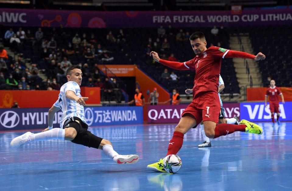 Poraz futsalera Srbije od Argentine na SP