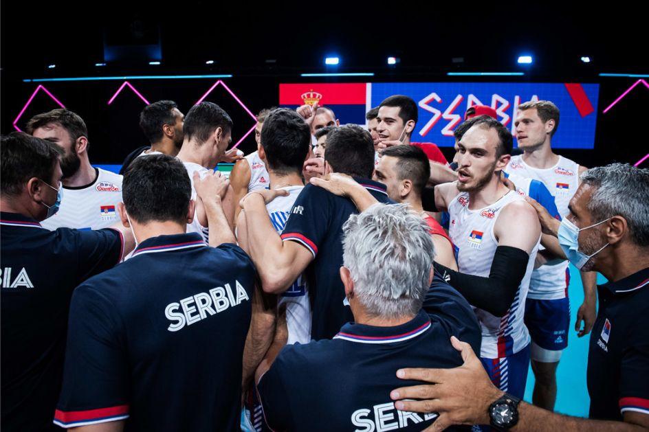 Poraz odbojkaša Srbije od Rusije u Ligi nacija
