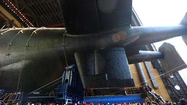 """Porinuta prva nuklearna podmornica-nosač za sistem """"Posejdon"""""""