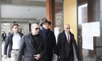 Porodica Marjanović ponovo pred sudom zbog UBISTVA PEVAČICE: Zoran i otac Vladimir stigli, MAJKA Zorica se nije pojavila (FOTO)