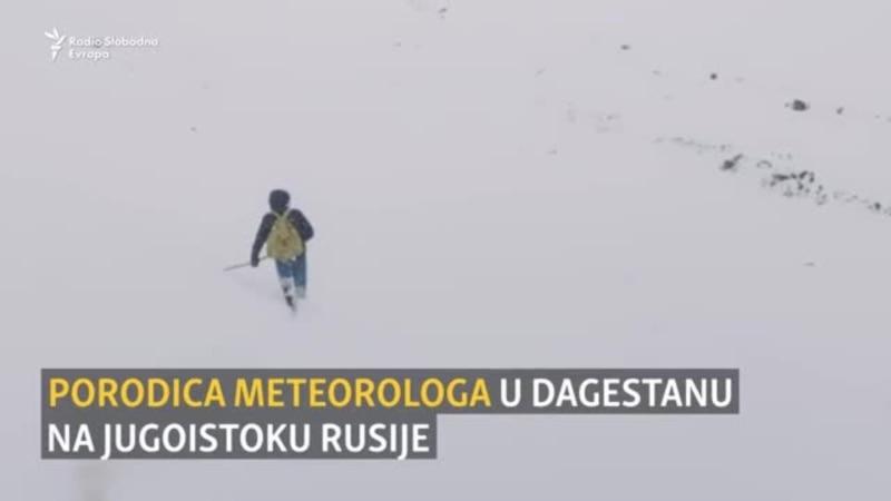 Porodica meteorologa brine o vremenu u Dagestanu