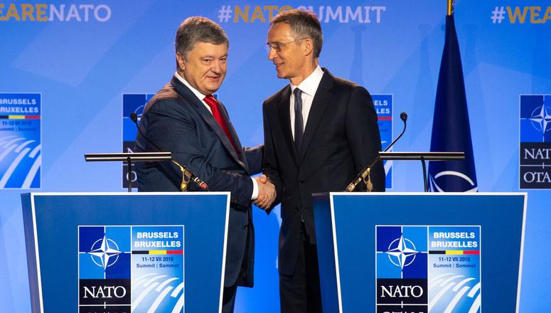 Porošenko računa na podršku NATO za uvođenje mirovnih snaga u Donbas