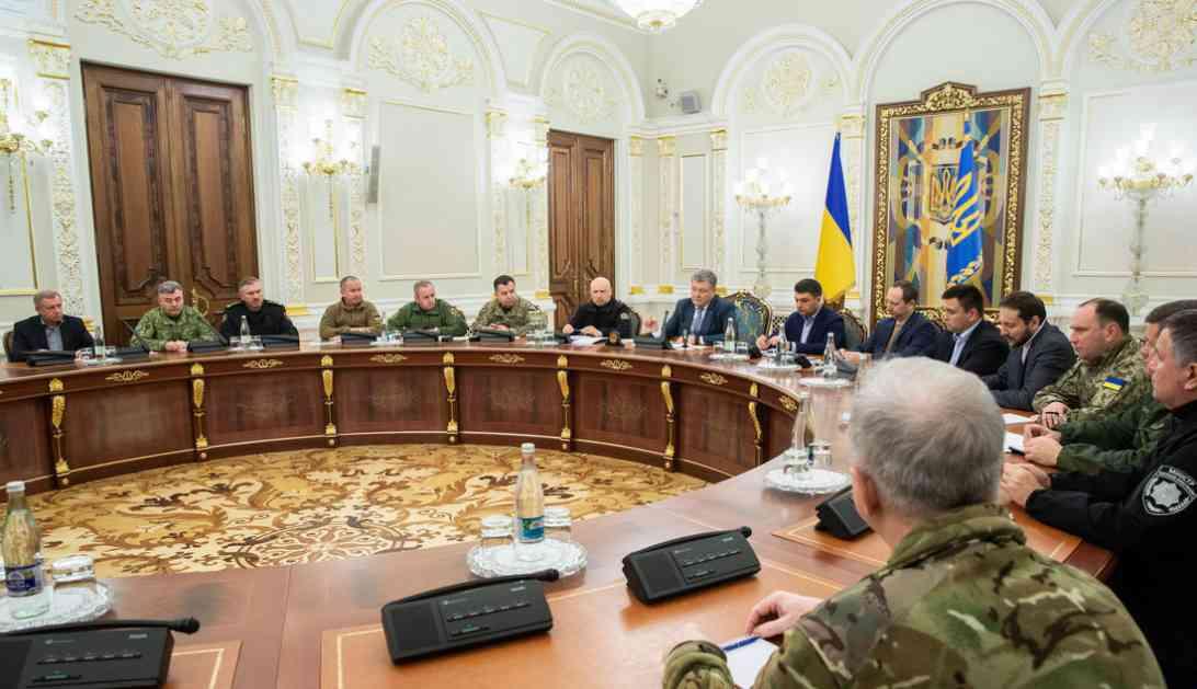 Porošenko smanjuje predlog za ratno stanje na 30 dana