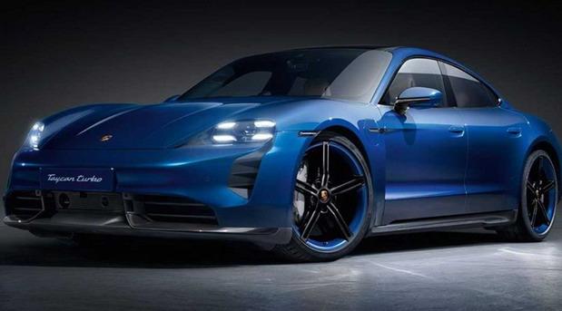 Porsche Taycan SportDesign Package Carbon
