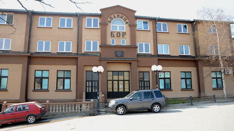 Posebno odeljenje u Boru za pacijente kod kojih se sumnja na COVID-19