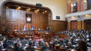 Poslanici govorili o pretnjama i kritikovali vanparlamentarnu opoziciju