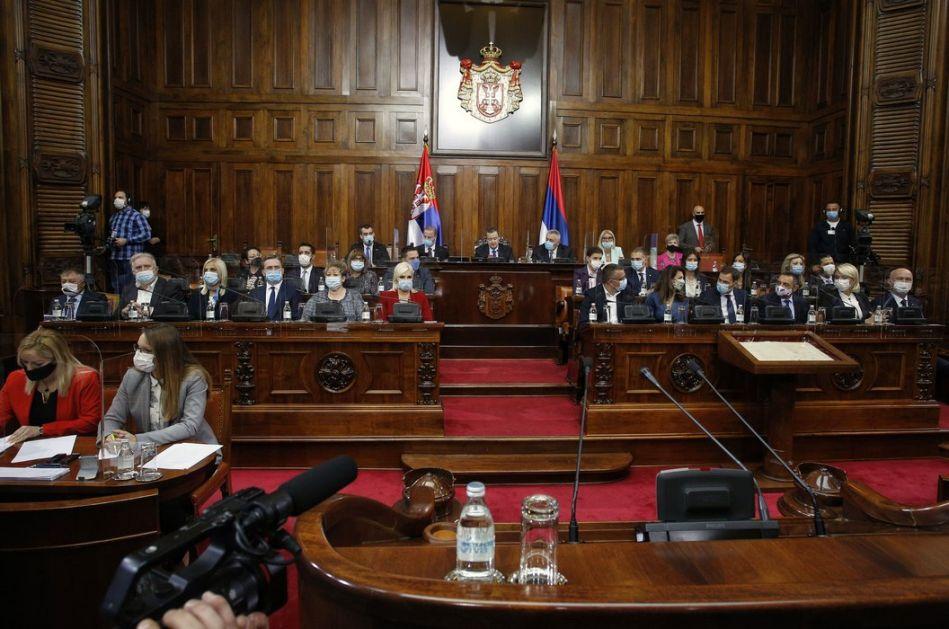 Usvojen set poreskih i carinskih zakona; Skupština ratifikovala sporazume vredne 700 miliona evra